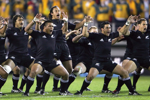 The All Blacks Rugby Team