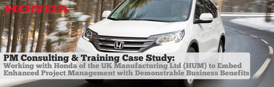 Honda Project Management and Training Case Study