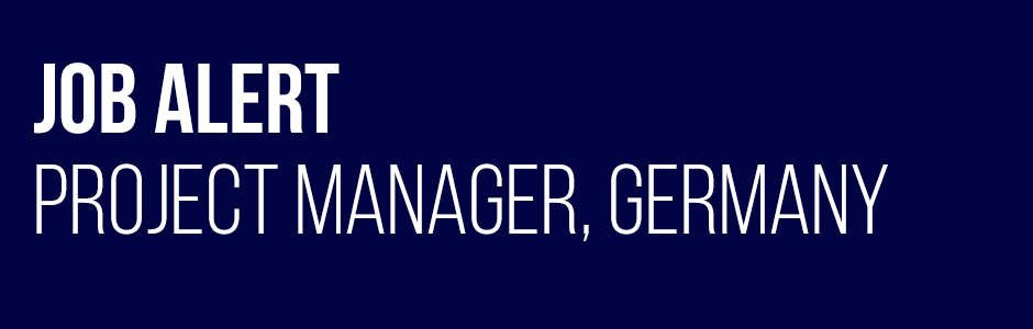 Job Alert - Project Manager - Germany - Wellingtone Project Recruitment