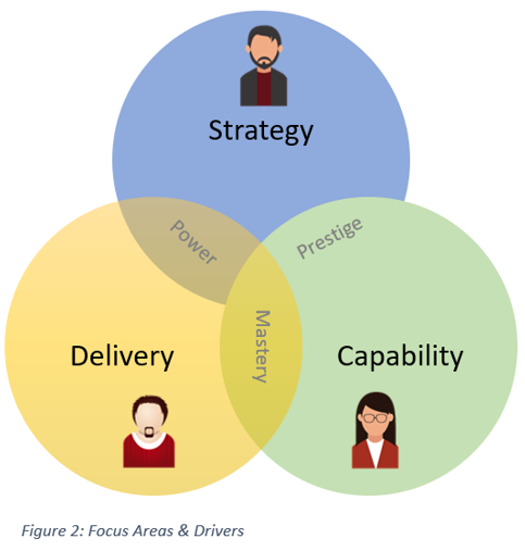 Focus Areas and Drivers - PMO Competence Framework - Wellingtone PPM