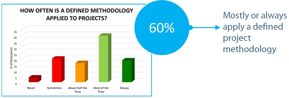 The State of Project Management Annual Survey - Project Methodology -Wellingtone PPM